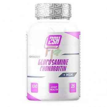 2SN Glucosamine Chondroitin MSM 100 caps