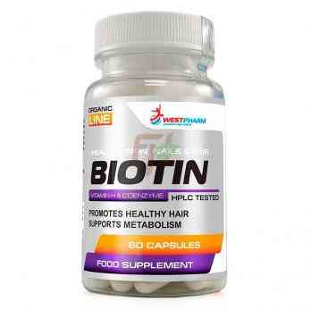 Biotin (10 mg × 60 caps)