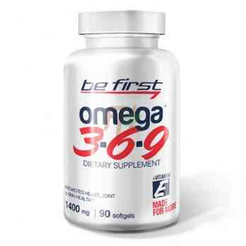 Be First Omega 3-6-9 (90 капсул)