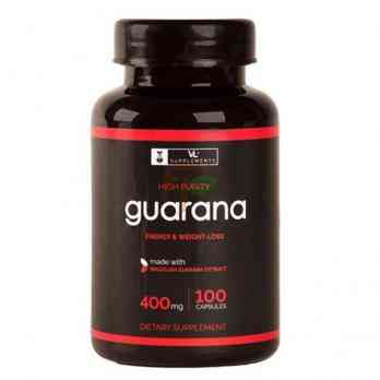 VL Supplements Guarana (400 мг × 100 капсул)