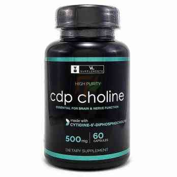 CDP Choline (500 mg × 60 caps)