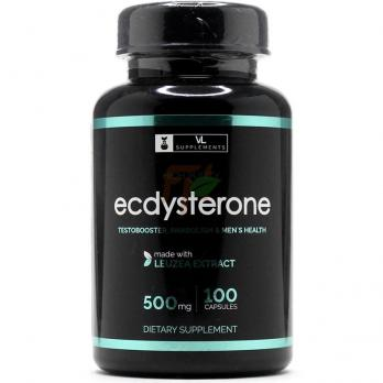 VL Supplements Ecdysterone (500 мг× 100 капсул)