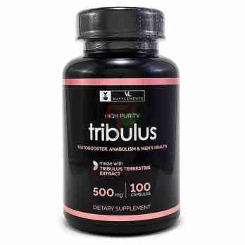 VL Supplements Tribulus(500 мг × 100 капсул)